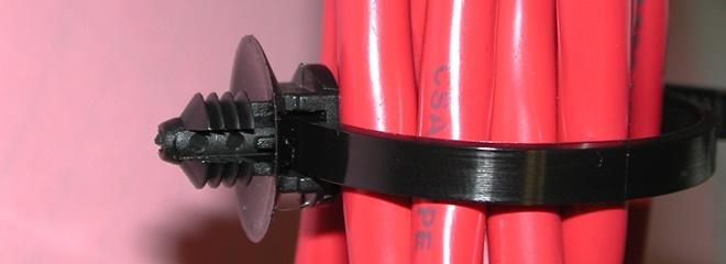 DTi-Ti: Push-Mount Cable Tie™