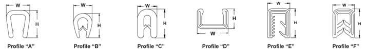 "Trim-Fast™: ""S"" Series PVC"